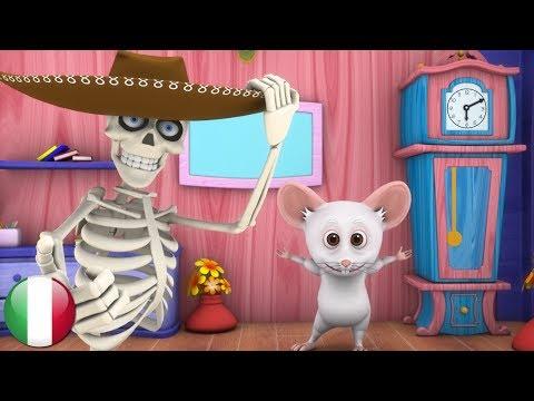 La Danza Dello Scheletro | Rime Per I Bambini | Filastrocche In Italiano | Dance of the Skeleton