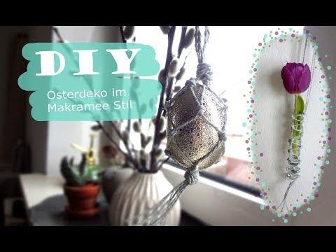 0 - Ostern im Makramee Stil dekorieren - DIY
