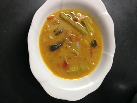 How To Make Traditional South Indian Sambar Recipe for ...