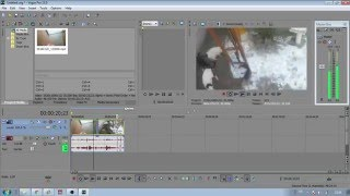 How to rotate a video or picture on Sony Vegas.