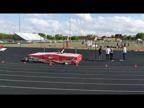 Orion - High Jump at Elite Meet (McGuire Middle School)