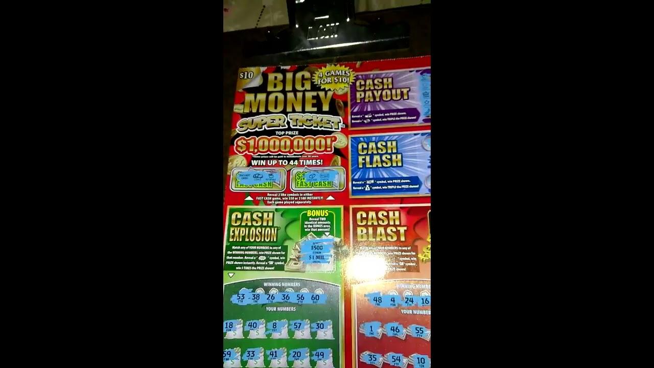 NC $10 Big Money Super Ticket