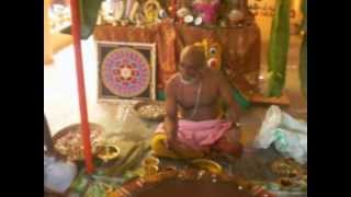 Sri Maha Ganapathy Atharva Seersha Upanishad chanting and Ganapathy Homam