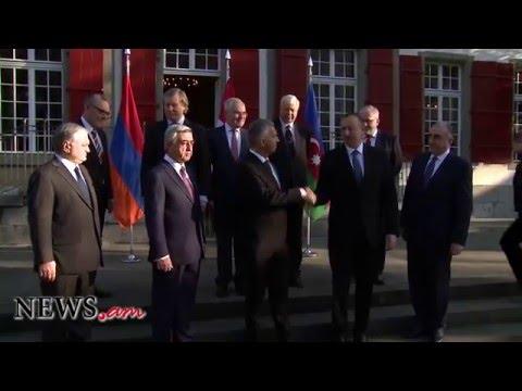Serzh Sarkissian and Ilham Aliyev meet in Bern