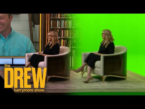 How The Drew Barrymore Show Gets Virtual Guests in Studio