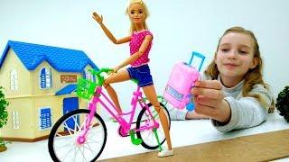 Видео для детей, как куклы Барби опаздывает в аэропорт