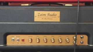 "Zaim Audio ""FlameThrower 50"" Tube Amp Demo Metallica Battery"