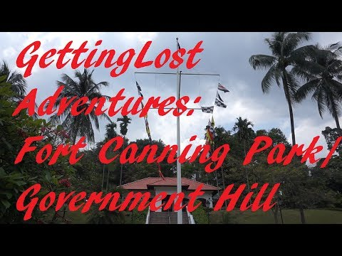 Fort Canning Park / Government Hill. Exploring the remnants of Singapore Colonial History