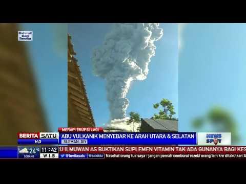 Gunung Merapi Kembali Erupsi Selama 2 Menit