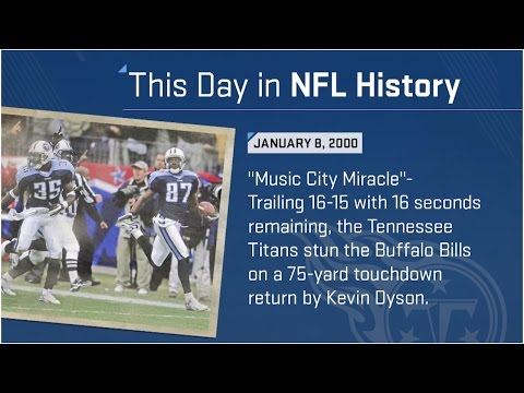 The Music City Miracle | This Day In NFL History (1/08/00) | NFL