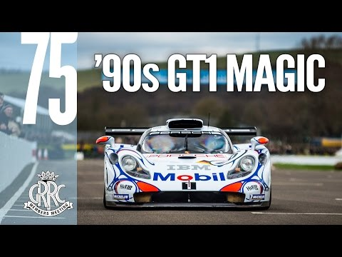 GT1 demo brings '90s nostalgia to Goodwood