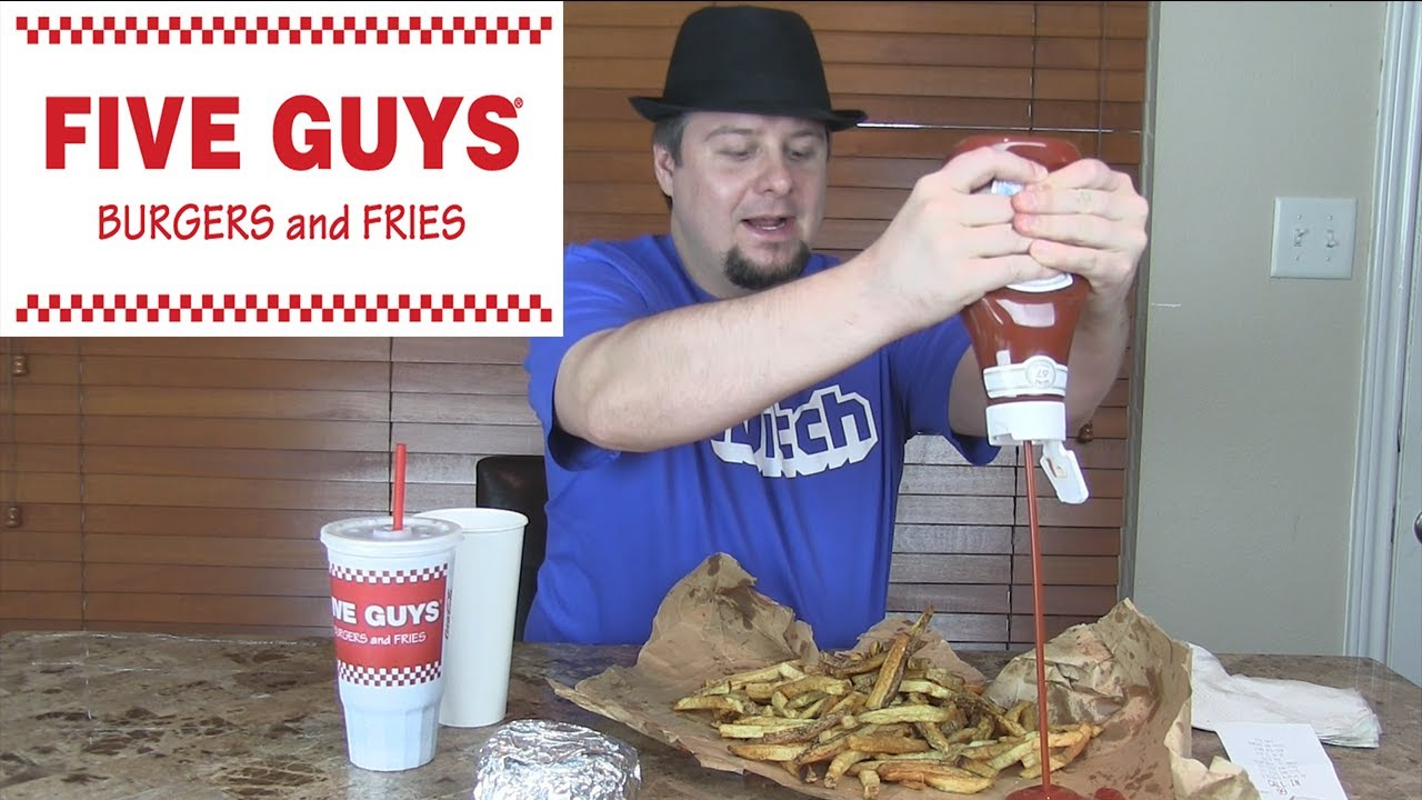 five guys burgers and fries essay Monsoon's exclusive interview with five guys' molly i posted a review of five guys burgers and fries and contacted its corporate headquarters to write an essay.