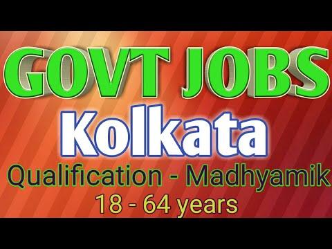 Govt Jobs Kolkata | Govt Jobs Notification