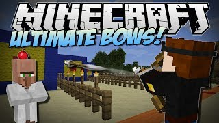 Minecraft   ULTIMATE BOWS MOD! (Rocket Launchers, Fireworks Bows & More!)   Mod Showcase [1.7!]
