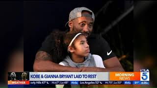 Kobe, Gianna Bryant Buried in Private Family Service in Corona del Mar
