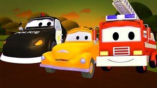 La SUPER PATRULLA : Bebé TOM está en PROBLEMAS en AUTO CITY | DIBUJOS ANIMADOS para niños