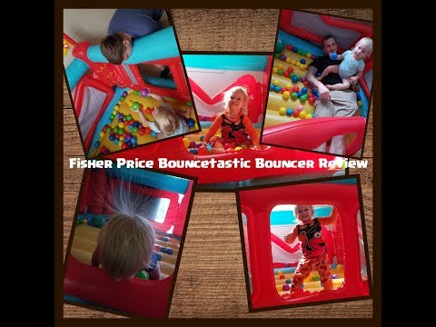 FP Bouncetastic Bouncer Review + Demo | Baby Toys In Action