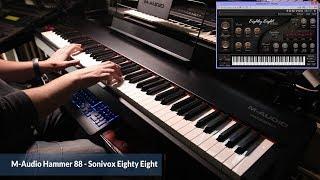 M-Audio Hammer 88 - Sonivox Eighty Eight - Demo Piano Layer