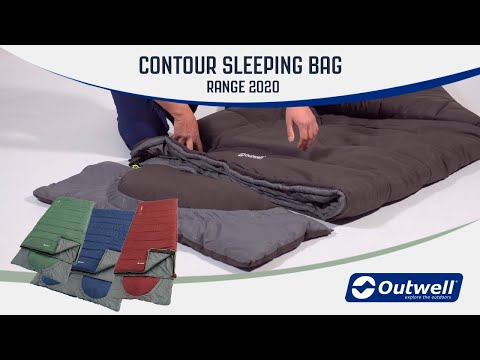 Outwell Contour sleeping bag range 2020 | Innovative Family Camping