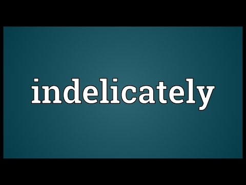 Header of indelicately