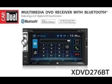Dual XDVD276BT Head Unit