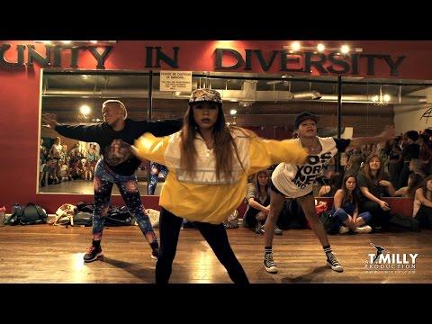 Nicki Minaj - Anaconda - Choreography by Tricia Miranda ft @kaelynnharris | @nickiminaj @timmilgram
