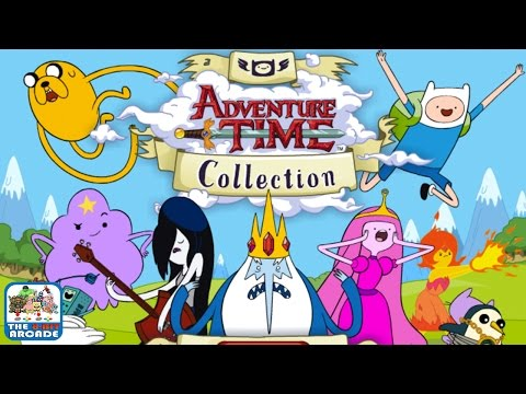 Adventure Time Collection - All Characters, Easy Mode Complete (Cartoon Network Games)