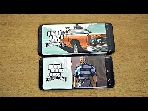 Samsung Galaxy S8 & S8 Plus Gaming Review GTA San Andreas! (4K)