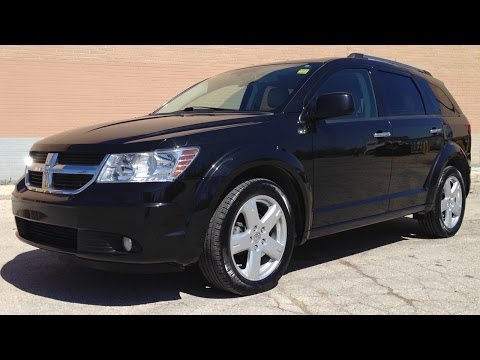 Dodge Journey for sale in Winnipeg | 2010 Dodge Journey R/T AWD from Ride Time