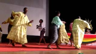 The Gahu Dance at the Ghana National Theatre