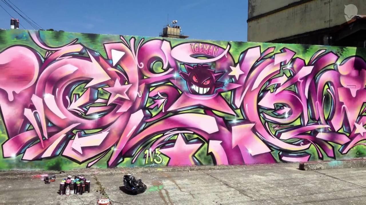 Gengar Graffiti Wild Style