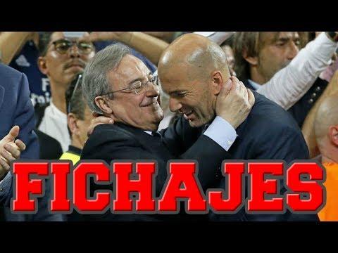ÚLTIMA HORA DE LA AGENDA DE FICHAJES DEL REAL MADRID thumbnail