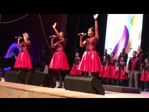 Minahasa Regency Choir live on concert at Sochi Russia