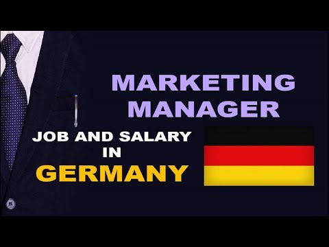 Marketing Manager Salary In Germany - Jobs And Wages In Germany