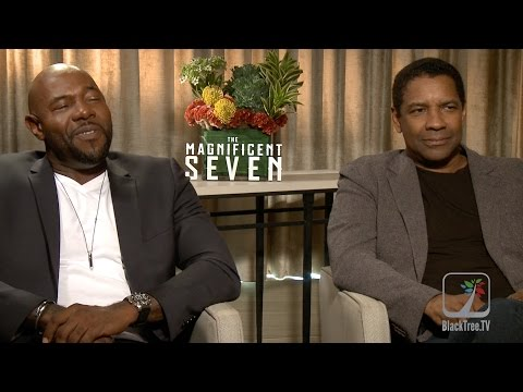 Denzel Washington and Antoine Fuqua The Magnificent 7  TIFF16