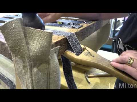 How To Attach Traditional Webbing