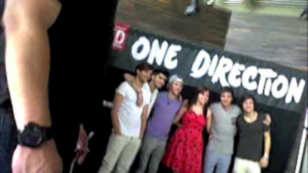 Meeting One Direction Getting A Kiss From Harry Styles 29512