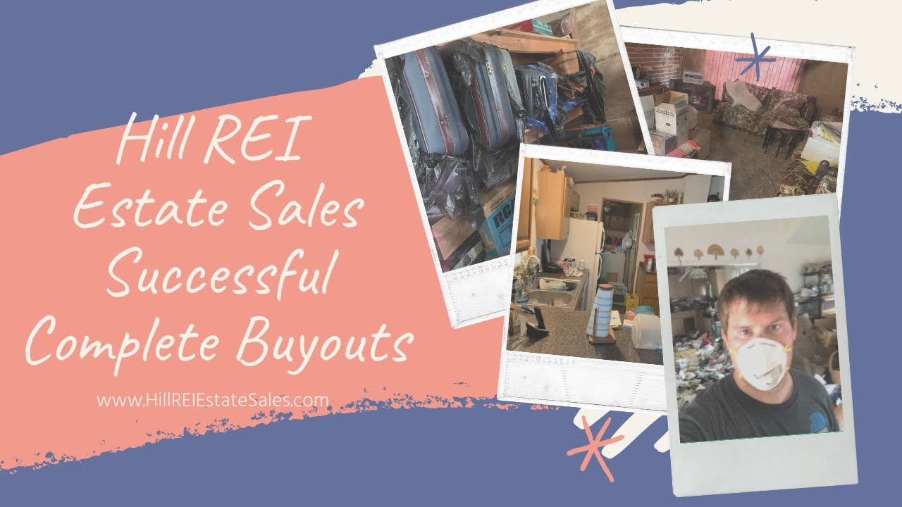 Hill REI Estate Sales through out the years and projects!