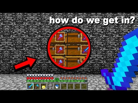 Breaking into the most SECURE Faction Vault on my Minecraft Server!