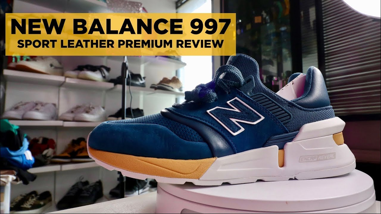 0998662fb2a57 NEW BALANCE 997 UNBOXING, REVIEW, & GIVEAWAY (SPORT LEATHER PREMIUM PACK)