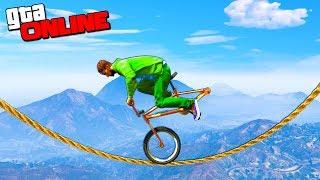 КУЗАКА НАСТОЯЩИЙ АКРОБАТ НА BMX! (GTA 5 Смешные Моменты)