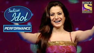 Download Amisha की हुई 'Kaho Naa Pyar Hai' पे Grand Entry | Indian Idol Season 2
