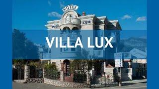 VILLA LUX 3* Черногория Будва обзор – отель ВИЛЛА ЛЮКС 3* Будва видео обзор