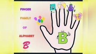 Finger family || alphabet B || finger family song || nursery rhymes || music for kids ||#kidskilkari