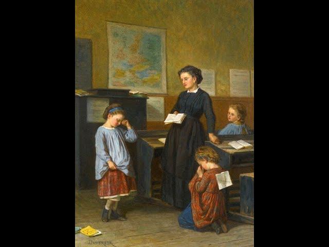 Изображение предпросмотра прочтения – ТатьянаТельканова читает произведение «В классе» М.И.Цветаевой
