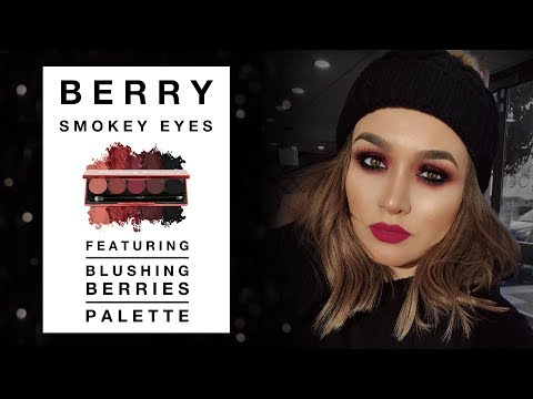 Berry Smokey Eyes ft. Blushing Berries Palette
