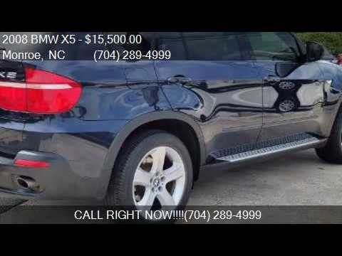 2008 Bmw X5 Awd 4dr Suv For Sale In Monroe Nc 28110
