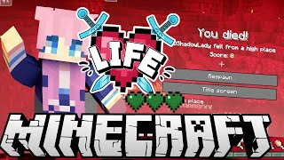 Secret Basement.... but mistakes were made. | Ep. 8 | Minecraft X Life SMP