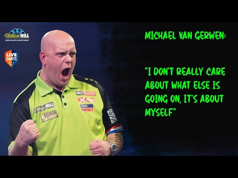"""Michael van Gerwen: """"I don't really care about what else is going on, it's about myself"""""""