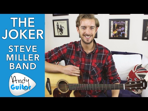 How to play THE JOKER - Steve Miller Band Guitar Lesson - How to Play on Guitar Tutorial